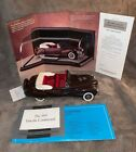 FRANKLIN MINT 1941 LINCOLN CONTINENTAL 1 24 SCALE DIE CAST B11RU76