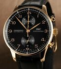 IWC Portuguese Chronograph 18K Rose Gold Watch IW371415.