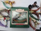 Lot of (7) Hallmark Rocking Horse Ornaments
