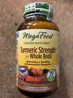 MegaFood Turmeric Strength Whole Body 90 Tabs Exp JAN/2022