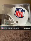 Barry Sanders Signed Mini Helmet NFL Hall Official Seal In Box Oct 2010