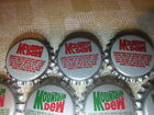 44 Mountain Dew Crowns Bottle Caps New Unused Green and Red 5 Shipping