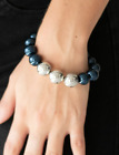 Paparazzi Bracelet All Dressed UPTOWN Blue
