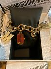 WoMEN'S MOSCHINO CHEAP AND CHIC I Love Charms BRACELET WATCH