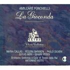 PONCHIELLI - Amilcare Ponchielli: La Gioconda 1952, Torino (3 Cds Box Set) Mint
