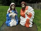 New Cado Grand Venture Blow Mold Nativity Set Mary with Baby Jesus