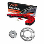 2003-2019 Honda CRF230F Chain and Sprocket Kit - Heavy Duty - Red