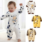 USA Newborn Baby Girl Boy Clothes Kids Romper Bodysuit Jumpsuit Outfit One piece