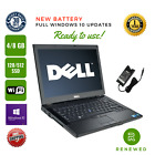 Dell Laptop Latitude 6410 14 Win10 Pro 8 Gb RAM 512 SSD GRADE A DVDRW