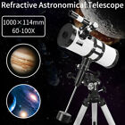 114 1000 Reflector Astronomical Telescope Space Moon Star Observer Night Vision