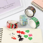 200PCS Roll Masking Scrapbook Sticker Sticky Paper Flower Petals Tape Adhesive