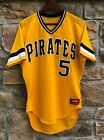 80's Pittsburgh Pirates Bill Madlock Authentic Rawlings MLB Jersey Size 42