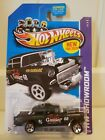 ERROR ALL SMALL Hot WHEELS 55 CHEVY BEL AIR GASSER Black 2013 HW 190 250 RARE