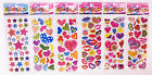 2018 Cheap Classic Cartoon Children Love Heart Stickers Kids Birthday Gift 6p