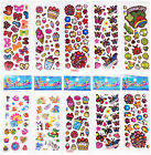 10 sheets 3D child Wall Scrapbooking  Paper kids Crafts stickers lot Party gift
