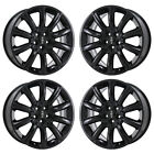 20 LINCOLN MKT GLOSS BLACK WHEELS RIMS FACTORY OEM 2010 2011 2012 2825 EXCHANGE