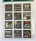 Christmas Sayings Planner Stickers Invitations Envelope Cards Seals Bujo Holiday