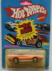 HOT WHEELS THE HOT ONES 1980 CORVETTE STINGRAY BAD CARD W+