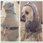 Pet Dog Puppy Clothes Printed Security Sweatshirts Hoodies Sweaters Chihuahua US