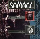 SAMAEL - Ceremony Of Opposites + Rebellion [ep] - CD - Extra Tracks Mint