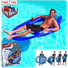 Pool Chair Float Inflatable Lounge Raft Swimming Recliner Kid Water Floating