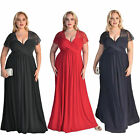 2019 Women's Plus Size High Waist Evening Cocktail Gown Long Maxi Lace Dress ZG9