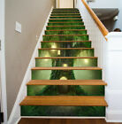 3D Tree house Stair Risers Stickers Photo Mural Vinyl Decal Wallpaper 13PCS Set