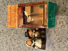 Vintage Hallmark Thanksgiving Pilgrims Couple Salt and Pepper Shakers with box