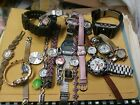Lot of Vintage Watches Watch Seiko Fossil Mens Womens Silver
