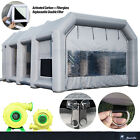 Mobile Portable Inflatable Car Spray Paint Booth Custom Auto Job Party Tent Fans