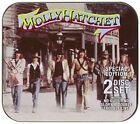 MOLLY HATCHET - No Guts No Glory / Double Trouble: Live - 2 CD - Collector's VG