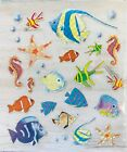 Under the Sea Ocean Fish Starfish Foil Stickers Papercraft Planner Supply Party