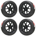 19 DODGE JOURNEY GRAND CARAVAN BLACK WHEELS RIMS TIRES FACTORY OEM 2422 2500