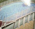 JOHNNY WEISSMULLER ULTIMA OVAL ABOVE GROUND POOL PARTS LISLTED SEPARATELY BY