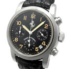 GIRARD-PERREGAUX Ferrari Chronograph 8020 Automatic Men's Watch Black Used Ex++
