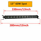 Mini 7 13 20 2532 38 Inch Led Light Bar Single Row Work Lights Us