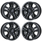 17 LEXUS GX470 GX 470 PVD BLACK CHROME WHEELS RIMS FACTORY OEM SET 74167