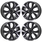 20 CHRYSLER PACIFICA GLOSS BLACK WHEELS RIMS FACTORY OEM SET 2596 EXCHANGE