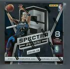 2018-19 Panini Spectra Basketball Factory Sealed Hobby Box
