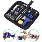 Watch Repair Tool Kit Opener Link Remover Spring Bar Free Hammer Carry Case MY