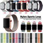 Nylon Sport WristBand Strap Loop for Apple Watch Series 4 3 2 1 38mm 42mm 40mm