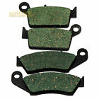 Fr+R Carbon Brake Pads For KAWASAKI  KX125 KX250 1997-2002