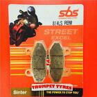 Hyosung GT 125 R Supersport 07 > ON SBS Rear Race Sinter Brake Pads Set OE 814LS