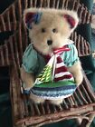 JIM SHORE  BOYDS COLLECTION - DOWN BY THE SEA - STUFFED BEAR WITH SAILBOAT