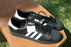 ADIDAS ORIGINALS SUPERSTAR 2 TRAINERS SNEAKERS BLACK WHITE SZ 17 G17067