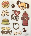 2 Sheets Dog Puppy Love Pet Animals Stickers Planner Papercraft Scrapbook Bujo