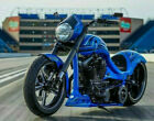 2015 Custom Built Motorcycles Chopper treet Fighter Model Harley Custom factory title NADA listed