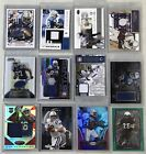 Topps Colts 12 Cards Relics Auto #'d Peyton Manning Marvin Harrison Reggie Wayne