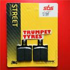 Cagiva T4 350 R 87 > ON SBS Front Ceramic Brake Pads OE QUALITY 519HF