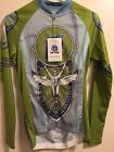 Womens Cycling Jersey Racing Two Retro Full Zip New with Tags 3 Pockets Small